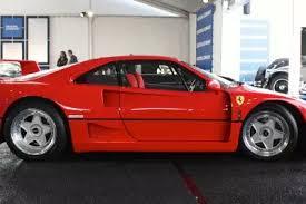 The ferrari f40 utilized a three pipe exhaust system. 1987 1992 Ferrari F40 Top Speed