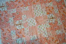 Cute Quilt for a little boy, including Self-binding Tutorial ... & A handmade quilt top with woodland animals. Adamdwight.com