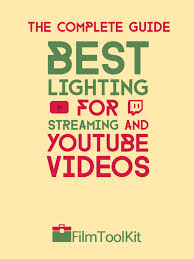 Best Streaming Lights Best Lighting For Streaming Youtube Videos The Complete