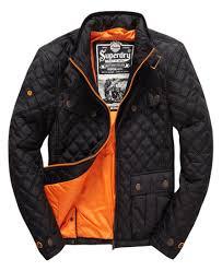 Superdry Apex Quilt JacketUSD $170.00 http://www.superdry.com/mens ... & Mens - Apex Quilt Jacket in Black Adamdwight.com