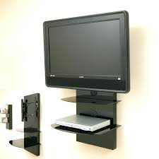 wall mount tv cable management wall mount with shelf for cable box amazing mount with shelf