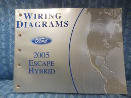 2005 ford escape hybrid oem wiring diagrams manual nos texas parts 2006 Regal 2200 Bowrider at 2005 Regal 2200 Wiring Diagram