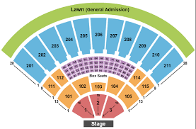 Toyota Amphitheater Detailed Seating Chart Toyota Amphitheatre Seating Chart Wheatland