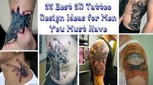 33 Best 3d Tattoo Design Ideas For Men You Must Have Klambenicom