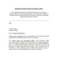 free sponsorship letter template 22