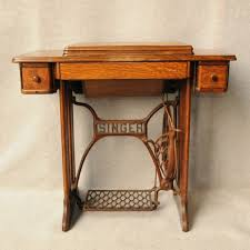 Old Treadle Singer Sewing Machine