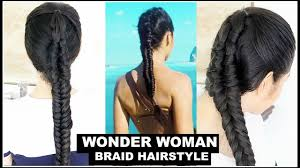 Wonder Woman Hair Style Wonder Woman Braidshairstyle Attemptbeautyklove Youtube 7772 by wearticles.com