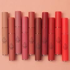 ของแท้ พร้อมส่งค่ะ Tint Lip 3ce Velvet 100 สีชัดสวยๆ ❤️ ลิปจิ้มจุ่มมูสเนื้อนุ่มให้ลุคแมท