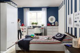 study bedroom furniture. PORTO BRW Kids Room / Study Furniture Set. Polish Black Red White Modern Store In London, United Kingdom Bedroom