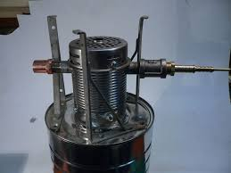 picture of assembling the cold smoke generator