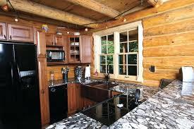 rustic countertops for cabins log cabin kitchens kitchen rustic with rustic granite counter chrome kitchen faucets rustic countertops for cabins