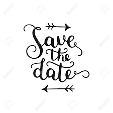 Save The Date Images Free Save The Date Hand Drawn Lettering For Design Wedding Invitation