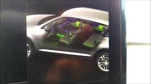 led lighting interior. 2017 Audi Q7 How To Change LED Interior Lighting Color Led