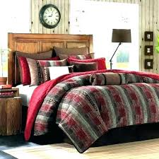 Red And Black Bedroom Set Comforter Green White – Mehmethakandemir