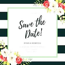 Save The Date Invitation Templates Save Date Templates Free Intended