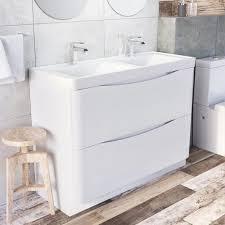 double basin vanity units for bathroom. harbour clarity 1200mm floorstanding vanity unit \u0026 double basin units for bathroom