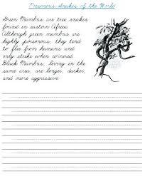 Cursive Writing Practice Worksheets Cursive Writing Practice