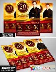 Church Anniversary Flyer Template 2301227 Free Download