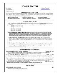 Professional Resume Samples 2015 Sample Professional Resume Format