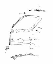 2014 dodge durango liftgate panels scuff plate diagram i2304973