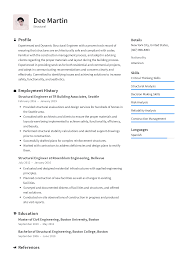 Structural Engineer Resume Templates 2019 Free Download
