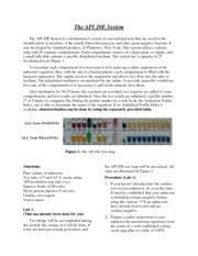 The_api_20e_system The Api 20e System The Api 20e System