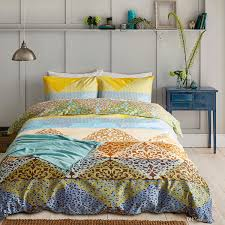 2019 lucky colorful modern style duvet cover set yellow king size bedding set soft lightweight microfiber children three piece bedding sheet set from