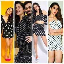Go Chic With Polka Dots: Take Inspiration From These Bollywood Divas For  Your Next Outing
