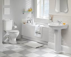 White Bathroom Suite Modern White Bathroom Suites Ideas With Mosaic Tile Walls