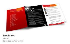 Photo Brochure Brochure Printing Online Start 33rs With Free Premium Design Templates