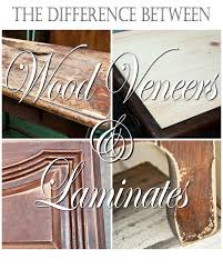 Wood Veneer Cabinet Doors Quick Tip Tuesday The Difference Between Veneer Laminate