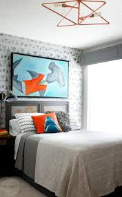 diy bedroom makeover. fabulous diy nautical shark theme bedroom makeover with copper pipe ceiling light, diy