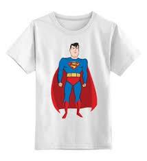 """Детские футболки c популярными принтами """"<b>superman</b>"""" - купить в ..."""