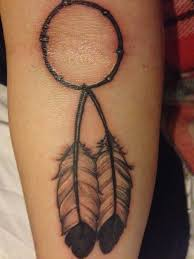Simple Dream Catcher Tattoos Interesting Simple Dreamcatcher Tattoo For Girls Tattooshunt