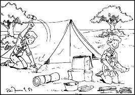 Small Picture Cub Scout Coloring Pages Bestofcoloringcom