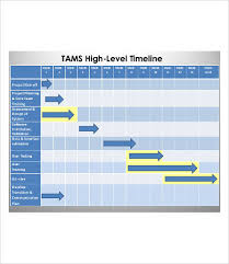 high level project schedule project management timeline free premium templates