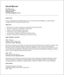 Customer Services Resume Objective Resume Objective Customer Service