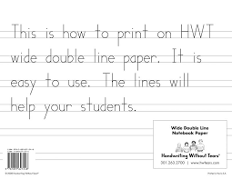Printable Kindergarten Lined Paper Template Inside