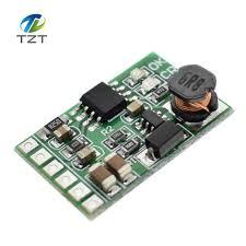 3 7v 4 2v charger 5v 6v 9v 12v discharger board dc dc converter boost module for diy ups mobile power 18650 lithium battery