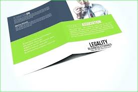 Three Fold Brochure Template Free Ibba Info