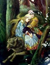The Tale of Ivan Tsarevich, the Firebird, and the Gray Wolf | Russian  folklore: Saint-Petersburg Guide