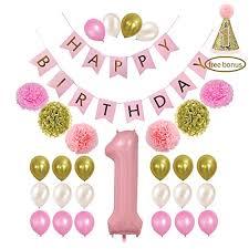 1st birthday banner litaus 1st birthday decorations happy birthday banner 1st baby