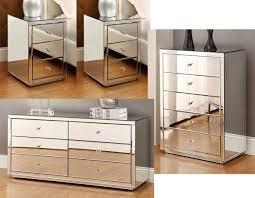mirrored bedside furniture. Store Categories. Home · Beds Bedroom Furniture Mirrored  Mirrored Bedside Furniture