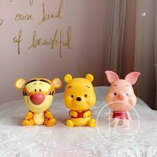 Set 3 Mô Hình Nhân Vật Phim Hoạt Hình Winnie The Pooh Bằng Pvc giá cạnh  tranh