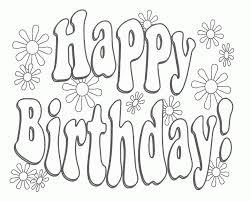 black and white birthday cards printable birthday card unique printable birthday cards to color free