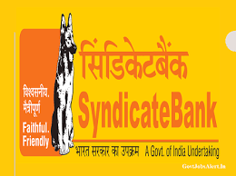 Syndicate Bank Govtjobsalert In Syndicate Bank Specialist Officers
