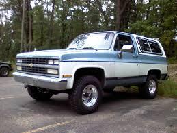 1989 Chevrolet Blazer - Information and photos - MOMENTcar