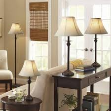 better homes and gardens lamps. Elegant Better Homes And Gardens 4-Piece Lamp Set, Dark Brown Finish Set Of Best Floor Table Lamps