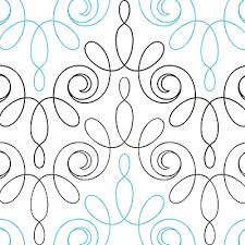 167 best longarm quilting patterns & tutorials images on Pinterest ... & Modern Lace quilting pantograph pattern by Jessica Shick Adamdwight.com