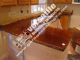 heat resistant 5050 clear polyurea concrete countertop coating